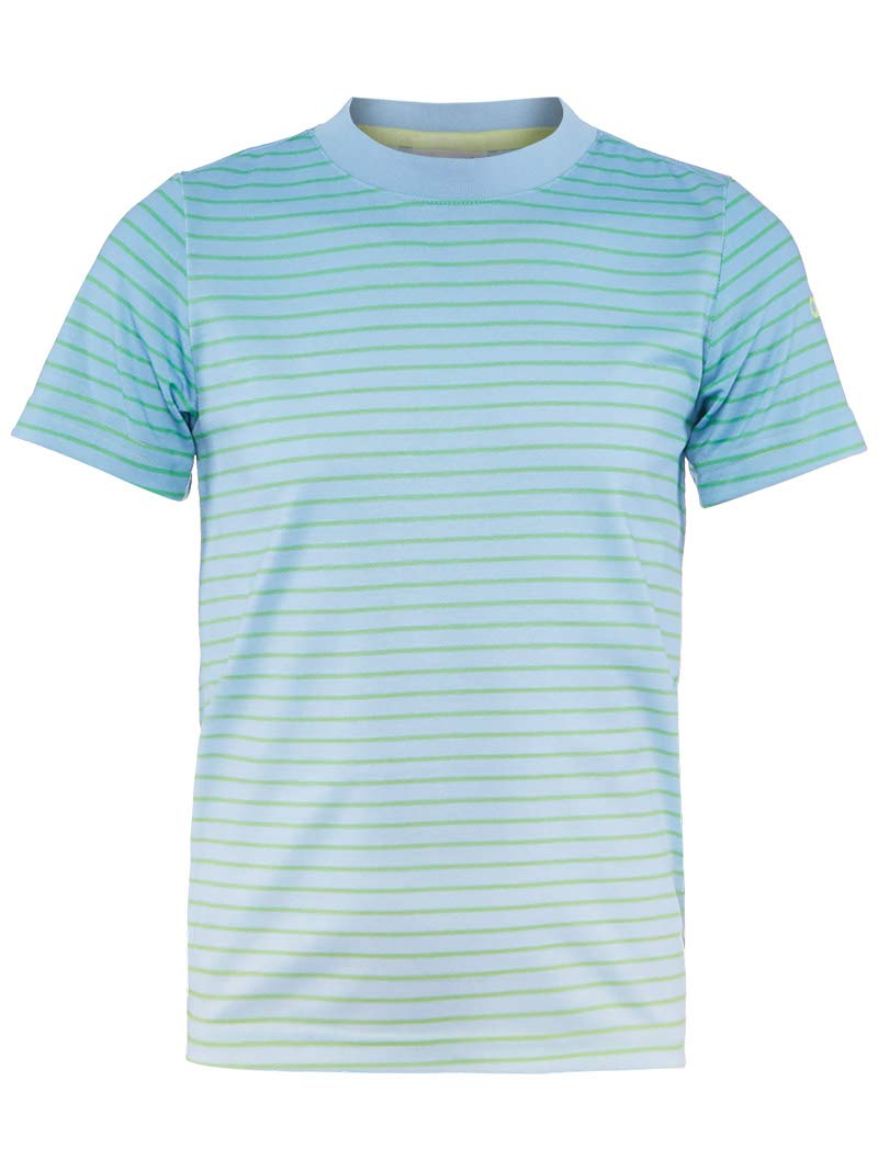 adidas Boys Tennis Melbourne Tee, Semi Frozen Yellow/Ash Blue, Medium