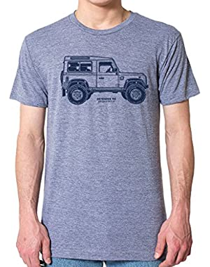 Land Rover Defender Side T-Shirt