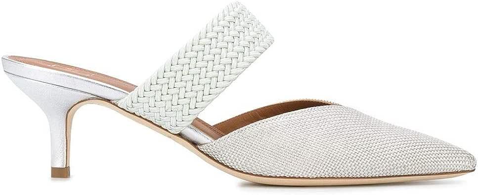 MALONE SOULIERS Luxury Fashion Womens MAISIE4511 White Heels | Spring Summer 20