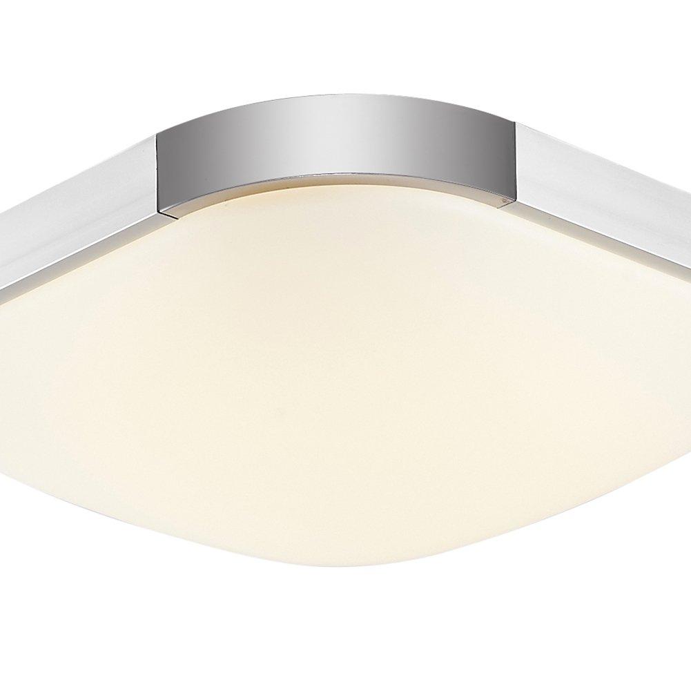 16W 36W 48W 64W 96W Espesamiento LED Moderno Lámpara De Techo Lámpara De Techo Pasillo Salón Cocina Dormitorio De La Lámpara Ahorro De Energía De Luz (16, ...