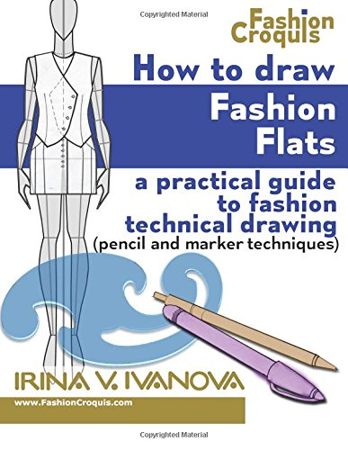 How Draw Fashion Flats techniques