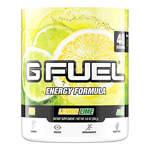 G Fuel Lemon Lime Tub (40 Servings) Elite Energy and Endurance Formula