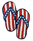 Stars and Stripes Flip Flops Magnet for Car, Office or Refrigerator, 7 3/4 Inch