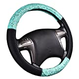 steering wheel cover cute - NEW ARRVIAL - CAR PASS Delray Lace and Spacer Mesh Steering wheel covers universal for vehicles,Suv (Mint)
