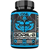 GORIL-B | Thermogenic Fat Burner Pills (60 Capsules) #1 NEW Diet Weight Loss Formula for Men and Women! Lose Weight, Boost Metabolism, Increase Energy, Suppress Appetite! Promotes Healthy Weight Loss!