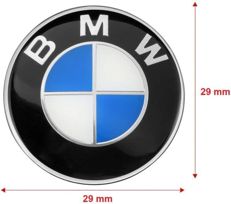 29 mm SUV port/átil Emblema de consola 3D para BMW bicicleta coche Careflex/®