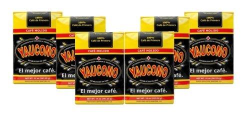 Yaucono Coffee 6 Pack (14 oz) by Cafe Yaucono