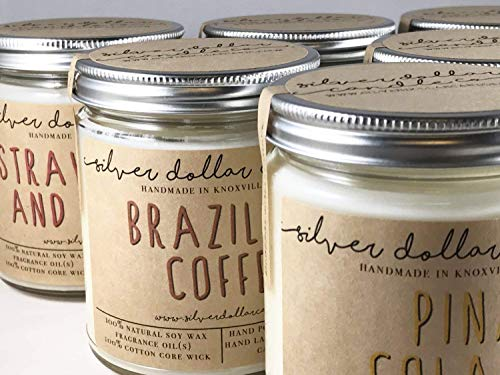 Personalized 8oz Handmade 100% Soy Wax Scented Candle by Silver Dollar Candle Co. by Silver Dollar Candle Co. (Image #7)