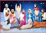 12pc Lighted Nativity Outdoor Décor