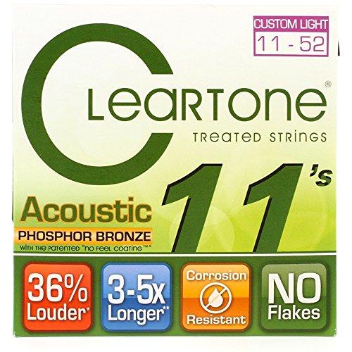 (Cleartone Custom-Light Gauge Coated Acoustic Guitar)