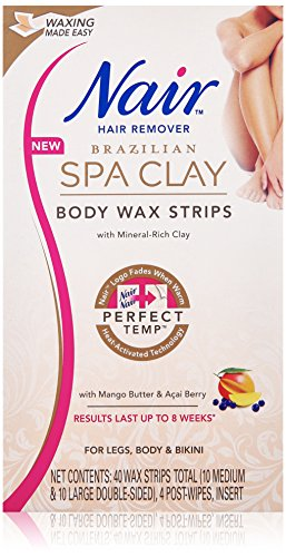Nair Brazilian Clay Strips strips product image