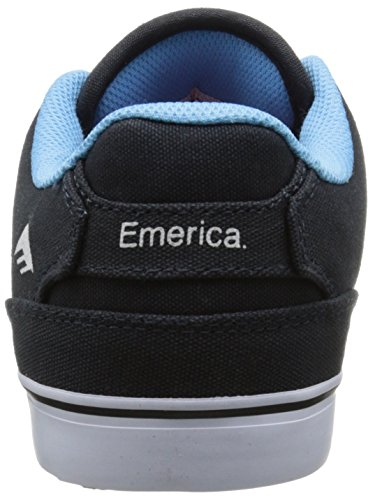 Gold The Reynolds VULC White Navy Skateboardschuhe Emerica Herren Low BHfqHna