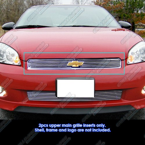 APS 2006-2013 Chevy Impala/06-07 Monte Carlo Billet Grille Grill Insert #S18-A34756C ()