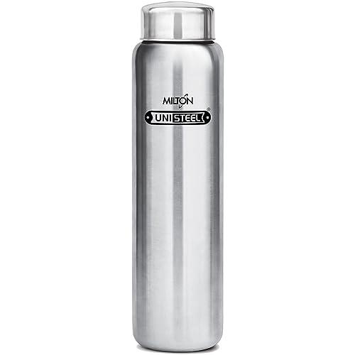 Milton Aqua-1000 Stainless Steel Water Bottle, 930 ml, Silver