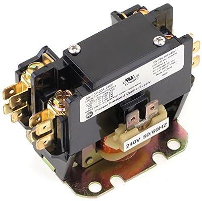 Cn-pbc301-240v Definite Purpose Contactor 30amp 1pole 208-240v Coil