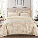 Best Dolce Mela Elegant Bedding King Size Beds - DM507K Dolce Mela Bedding - Rimini, Luxury Jacquard Review