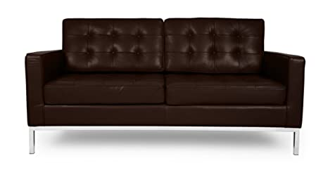 Amazon.com: kardiel Florence Knoll style Loveseat,. 00% full ...