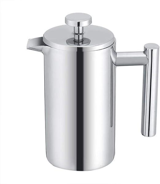 Homie Cafetera de Acero Inoxidable de Doble Pared de 350 ml ...