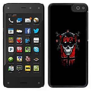 LECELL--Funda protectora / Cubierta / Piel For Amazon Fire Phone -- Slayer Cráneo gótico oscuro --
