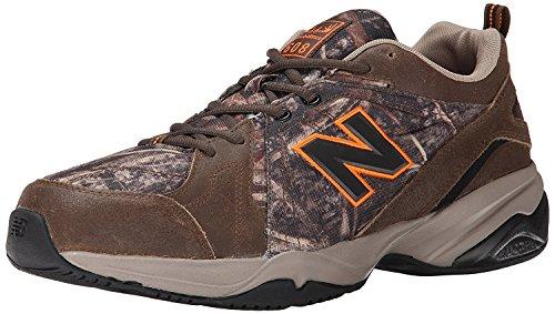New Balance MenS MX608v4 Training Shoe, Brown Camo Print, 46.5 EU/11.5 UK