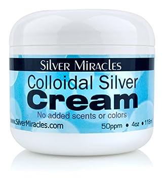 Colloidal Silver Cream - 4oz