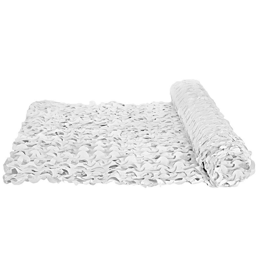 QIANGDA Rete Mimetica Bosco Tessuto Oxford Leggero per Dens Hide Bedroom Decorazione della Privacy, più Dimensioni (colore   Bianca, Dimensioni   4x8m)