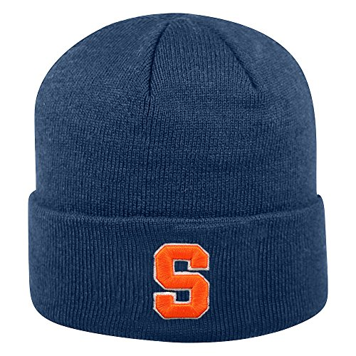 - Top of the World Syracuse Orange Men's Winter Knit Hat Icon, Navy, One Fit