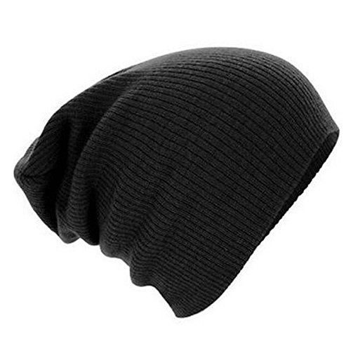 [Knitting Wool Warm Hat - iParaAiluRy Unisex Luxurious Fashionable Soft Slouchy Cap Beanie Hat Protect Your Ears in Winter and] (City Mouse Costume)
