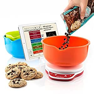 Perfect bake 2 0 smart scale and recipe app for Perfect bake pro amazon