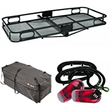 Pro Series Cargo Carrier with Bag and Carrier Light Kit Bundle