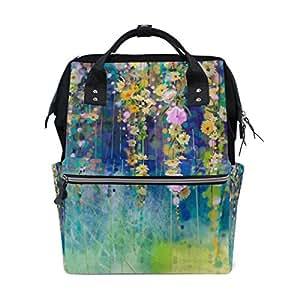 Amazon.com: vistyle mochila bolsa de pañales Wisteria árbol ...