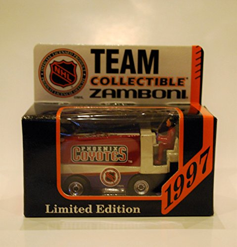 1997 NHL Team Collectible 1:50 Scale Diecast Collectors Zamboni - PHOENIX COYOTES (Nhl Diecast Collectibles)
