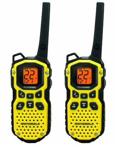 Motorola MS350R 35-Mile Talkabout Waterproof 2-Way Radio (Pair) by Motorola Solutions