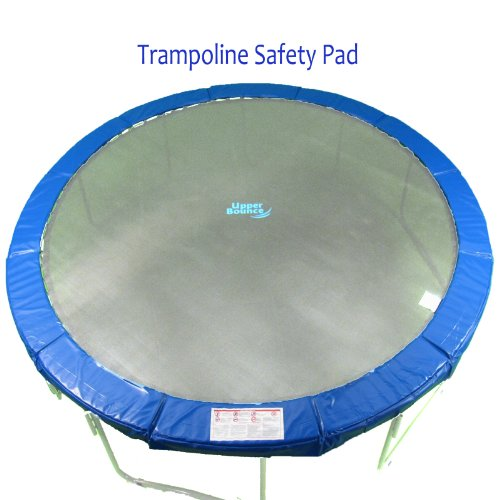 Upper Bounce Super Trampoline Safety Pad (Spring Cover) Fits for 14-Feet Round 10-Inch Wide Trampoline Frames, Blue