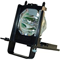 BORYLI 915B455011 Projection TV Lamp With Housing For Mitsubishi WD-73640, WD-73740, WD-73840, WD-73C11, WD-73CA1, WD-82740, WD-82740, WD-82840