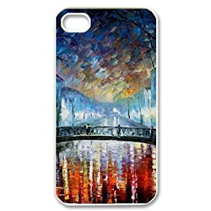 New Fashion Hard Back Cover Case for iPhone 4,4S with New Printed Art Painting