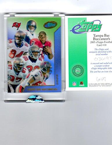 2005 eTopps Tampa Bay Buccaneers