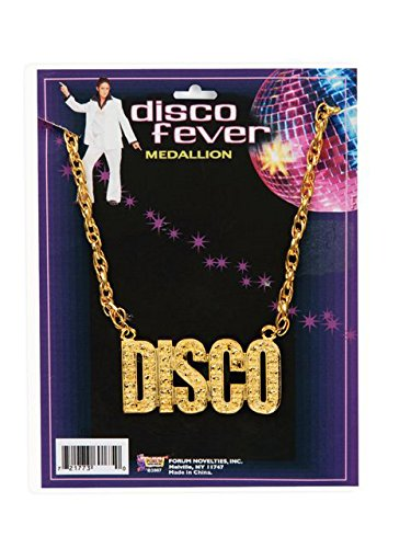 Disco Costumes Male (Forum Novelties Unisex Disco Necklace)