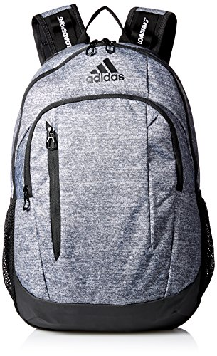adidas Mission Backpack, Onix Jersey/Black, One Size