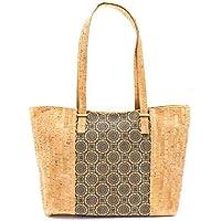 Eco Friendly Natural Cork Women Shoulder Handbag, Non Leather
