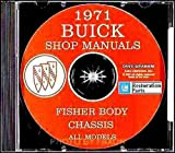 1971 Buick CD-ROM Repair Shop Manual & Body Manual