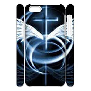 LZHCASE Design Diy hard Case Jesus Christ Cross For Iphone 4/4s [Pattern-1]