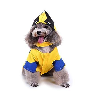 ZCY Ropa para Mascotas Perros Cosplay Disfraz Navidad Mascota Ropa ...