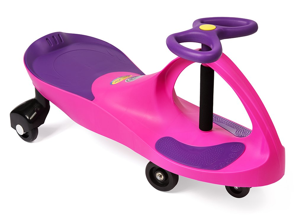 The Original PlasmaCar by PlaSmart – Pink/Purple – Ride On Toy, Ages 3 yrs and Up, No batteries, gears, or pedals, Twist, Turn, Wiggle for endless fun