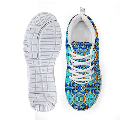 Bigcardesigns Mode Féminine Chaussures De Course Baskets Lacent Le Style 6