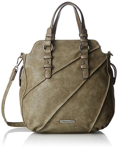 Tamaris Jutta Handbag - Bolsos maletín Mujer Verde (Khaki)