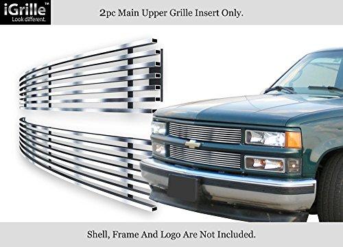 Fits 94-99 C/K Pickup/Suburban/Blazer/Tahoe Stainless Steel Billet Grille (Suburban Blazer Billet Grille)