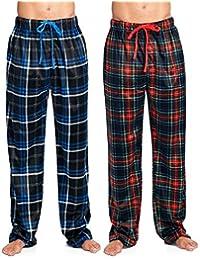 Men's Mink Fleece Sleep Lounge Pajama Pants