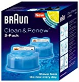 Braun Clean & Renew Refills 2 Cartridges 5.7 oz each