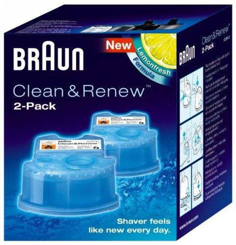 Braun Clean & Renew Refills 2 Cartridges 5.7 oz each